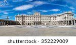 Royal Palace In Madrid In A...
