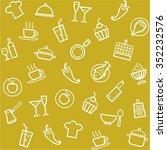 background  cuisine  cooking ... | Shutterstock .eps vector #352232576