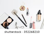 cosmetics  makeup and beauty...   Shutterstock . vector #352268210