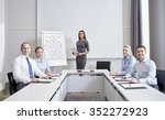 business  people and teamwork... | Shutterstock . vector #352272923