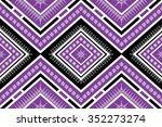 geometric ethnic  pattern...   Shutterstock .eps vector #352273274