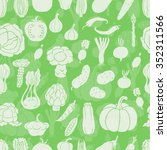 seamless pattern with... | Shutterstock .eps vector #352311566