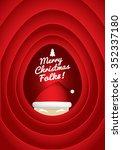 merry christmas folks | Shutterstock .eps vector #352337180