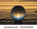 world upside down in a glass... | Shutterstock . vector #352346300