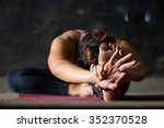 details of the hands of a young ... | Shutterstock . vector #352370528