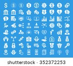 financial business vector icon... | Shutterstock .eps vector #352372253