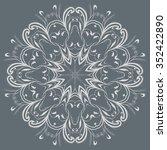 round ornament | Shutterstock .eps vector #352422890