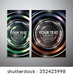 brochure business design... | Shutterstock .eps vector #352425998