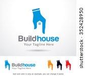 Stock vector build house logo template design vector 352428950