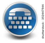icon  button  pictogram with... | Shutterstock . vector #352447544