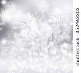 abstract holiday background... | Shutterstock . vector #352463303