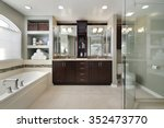 Master Bath In Luxury Home Wit...