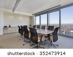 conference room in office... | Shutterstock . vector #352473914