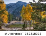 Small photo of Nevada-Great Basin National Park-Alpine Lakes Trail. Autumn in Great Basin is a most colorful yearly natural event, which makes the spectacular scenery even more magnificent.
