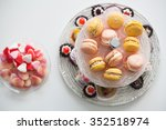 Colorful Cookies On Plate
