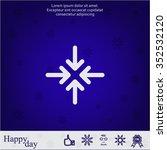 arrows vector icon | Shutterstock .eps vector #352532120