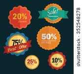 vintage badge and label | Shutterstock .eps vector #352548278