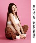 pregnant female | Shutterstock . vector #35257528
