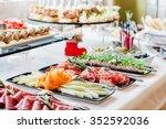 catering food | Shutterstock . vector #352592036
