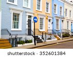 Notting Hill In London England...