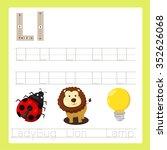 illustrator of l exercise a z... | Shutterstock .eps vector #352626068