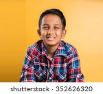 10 Year Old Boy  Happy Indian...