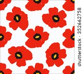 Colorful Hand Drawn Poppies ...