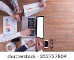 business concept  teamwork   Shutterstock . vector #352727804