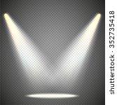 scene illumination from above ... | Shutterstock .eps vector #352735418