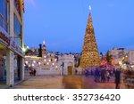 nazareth  israel   december 16  ... | Shutterstock . vector #352736420