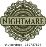 nightmare abstract linear... | Shutterstock .eps vector #352737839