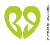 b and g logo vector. | Shutterstock .eps vector #352742888