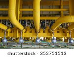 pressure transmitter in oil and ... | Shutterstock . vector #352751513