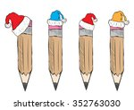 Clipart With A Set Of Christma...