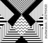 seamless pattern in retro...   Shutterstock .eps vector #352793420