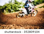 Biker Accelerating During A...