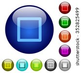 set of color media stop glass...