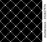 vector seamless dotted pattern. ...   Shutterstock .eps vector #352827974