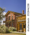 bannack  montana  usa   august... | Shutterstock . vector #352846238