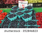 Baskets Of Blueberries Sold At...