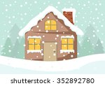 cartoon clip art   cute cottage ...