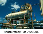 offshore industry oil and gas... | Shutterstock . vector #352928006