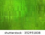 bright abstract mosaic green... | Shutterstock . vector #352951838