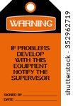 if problems develop with this... | Shutterstock .eps vector #352962719