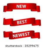 banner set.  vector... | Shutterstock .eps vector #35299675