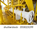 pig luncher in oil and gas...   Shutterstock . vector #353023199