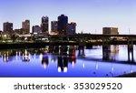 evening in little rock ...   Shutterstock . vector #353029520
