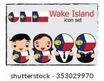wake island boy  girl ...   Shutterstock .eps vector #353029970