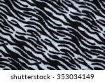 textile leopard | Shutterstock . vector #353034149