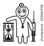 doctor appointment. physician...   Shutterstock . vector #353061938